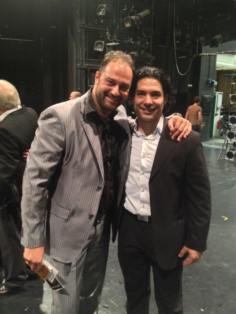 con Gonzalo Galguera, Direttore Balletto di Magdeburg