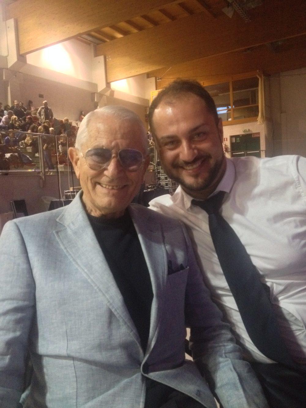 con il Prof. Aldo Masella, Giuria della Critica Lecco Danza Competition
