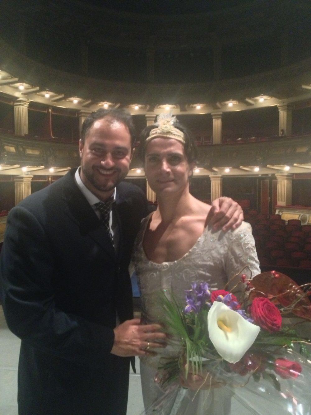 con l'etoile Giuseppe Picone, La Bayadere, Opera di Belgrado