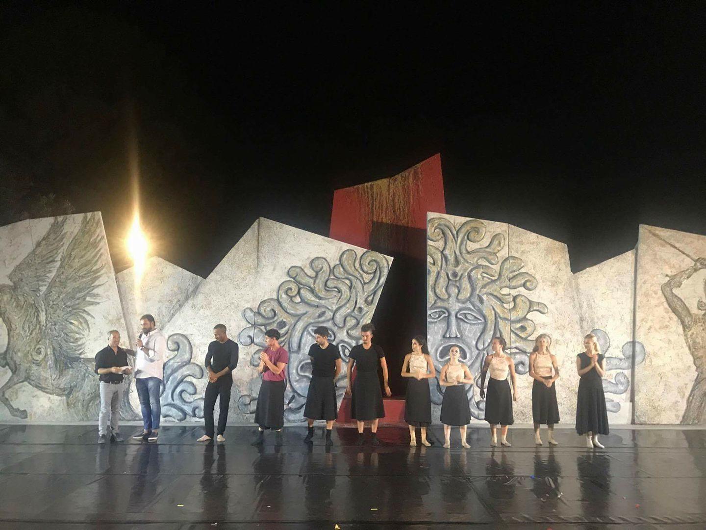 Festival Internazionale della danza e delle arti contemponee -Teatro Greco Festival - I edizione