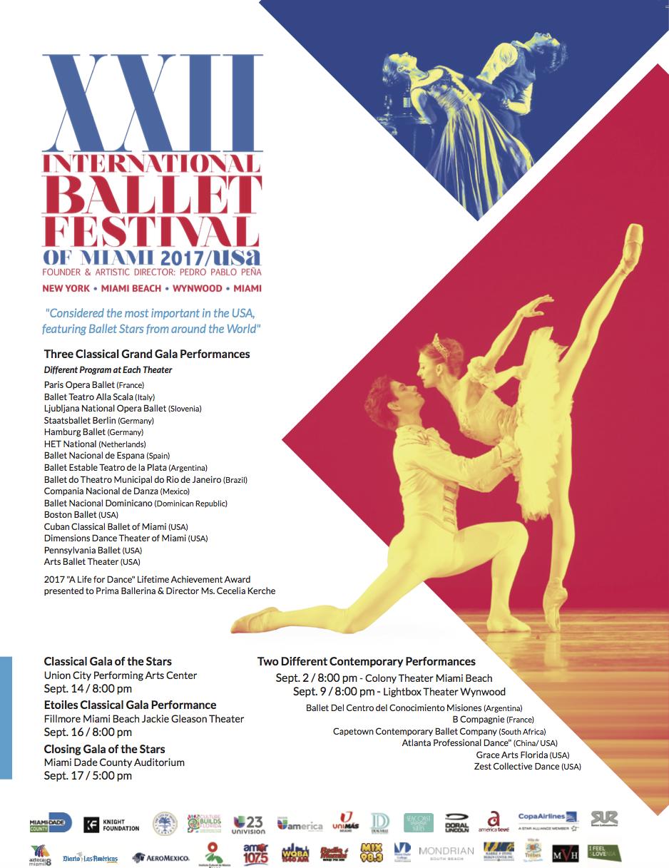 XXII Internation Festival Ballet di Miami
