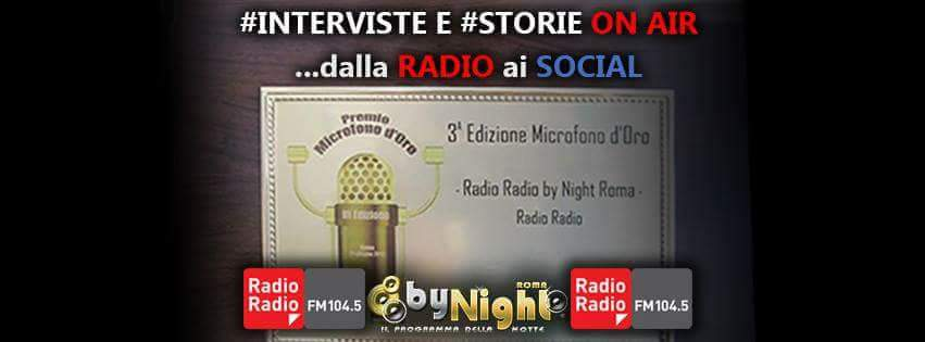 Intervista RadioRadio by Night 104.5