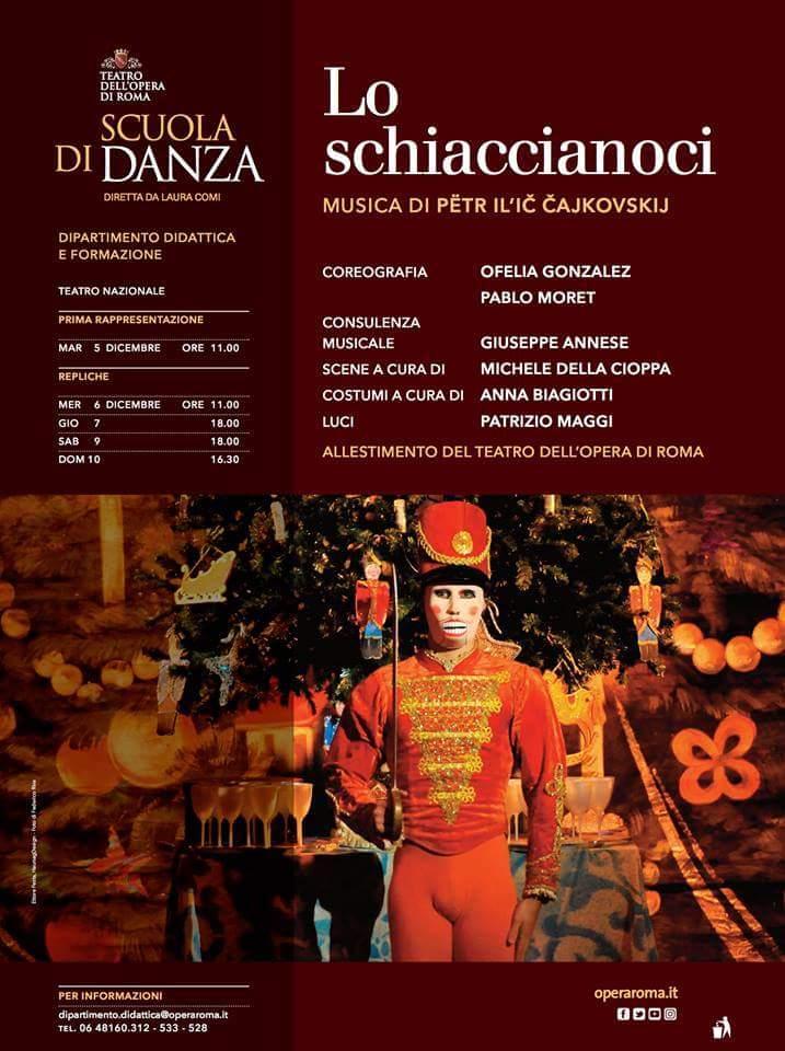 """""""Lo Schiaccianoci"""" al Teatro Nazionale di Roma"""
