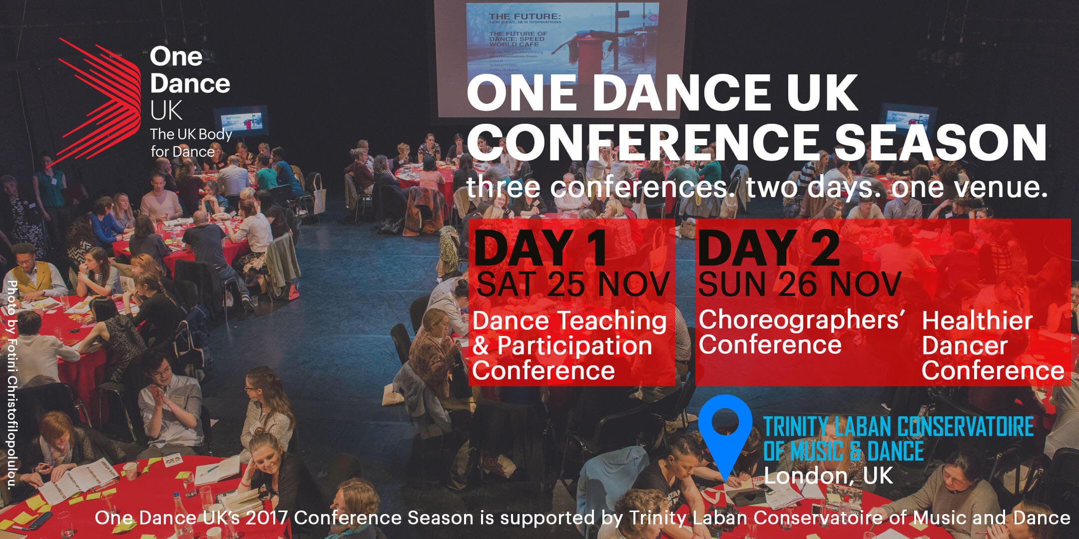 ONE DANCE UK CONFERENCE SEASON
