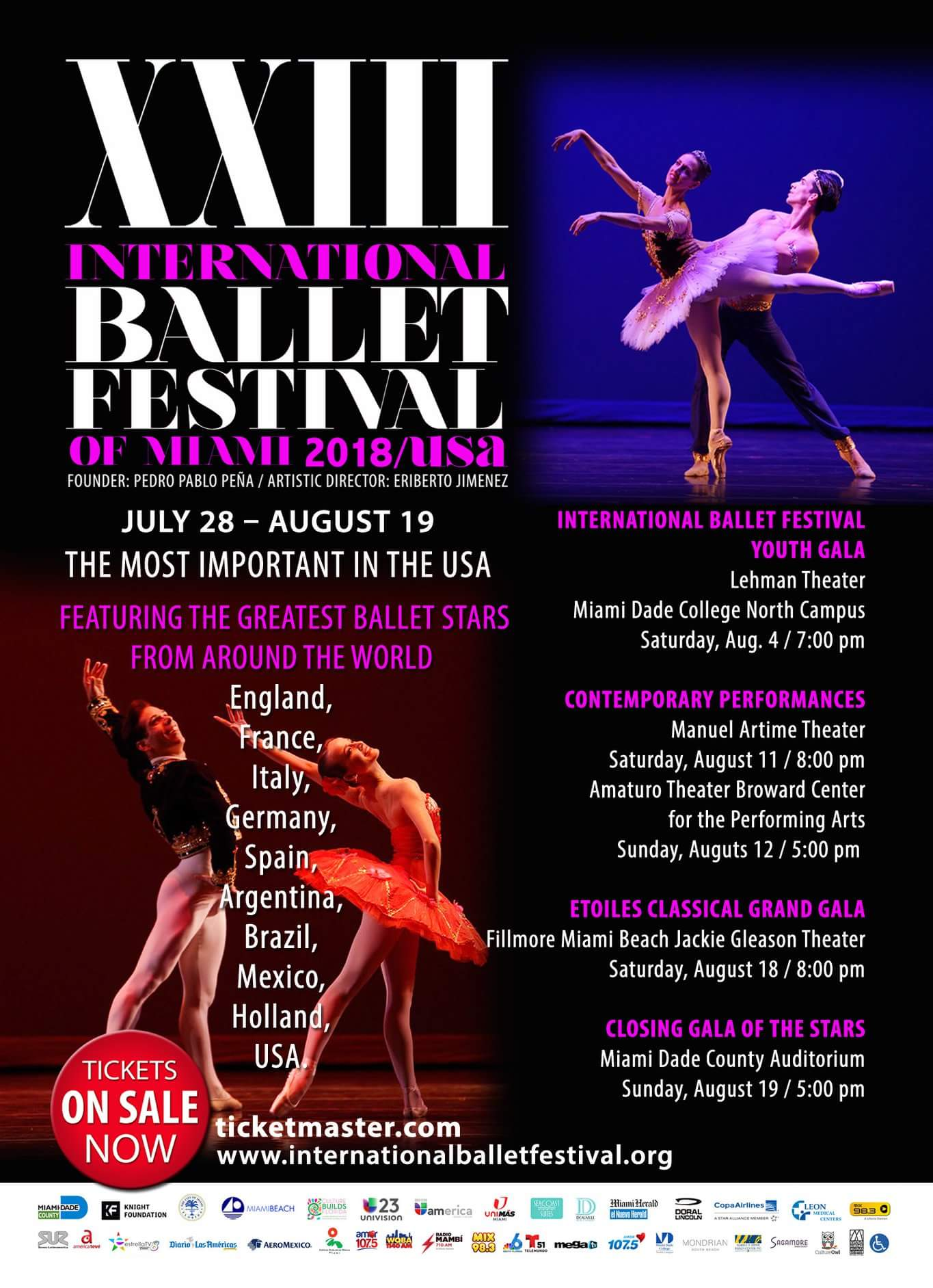 INTERNATIONAL BALLET FESTIVAL OF MIAMI (FLORIDA)