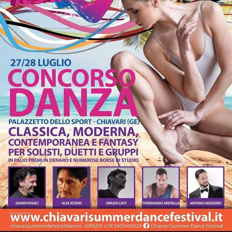 CHIAVARI SUMMER DANCE FESTIV