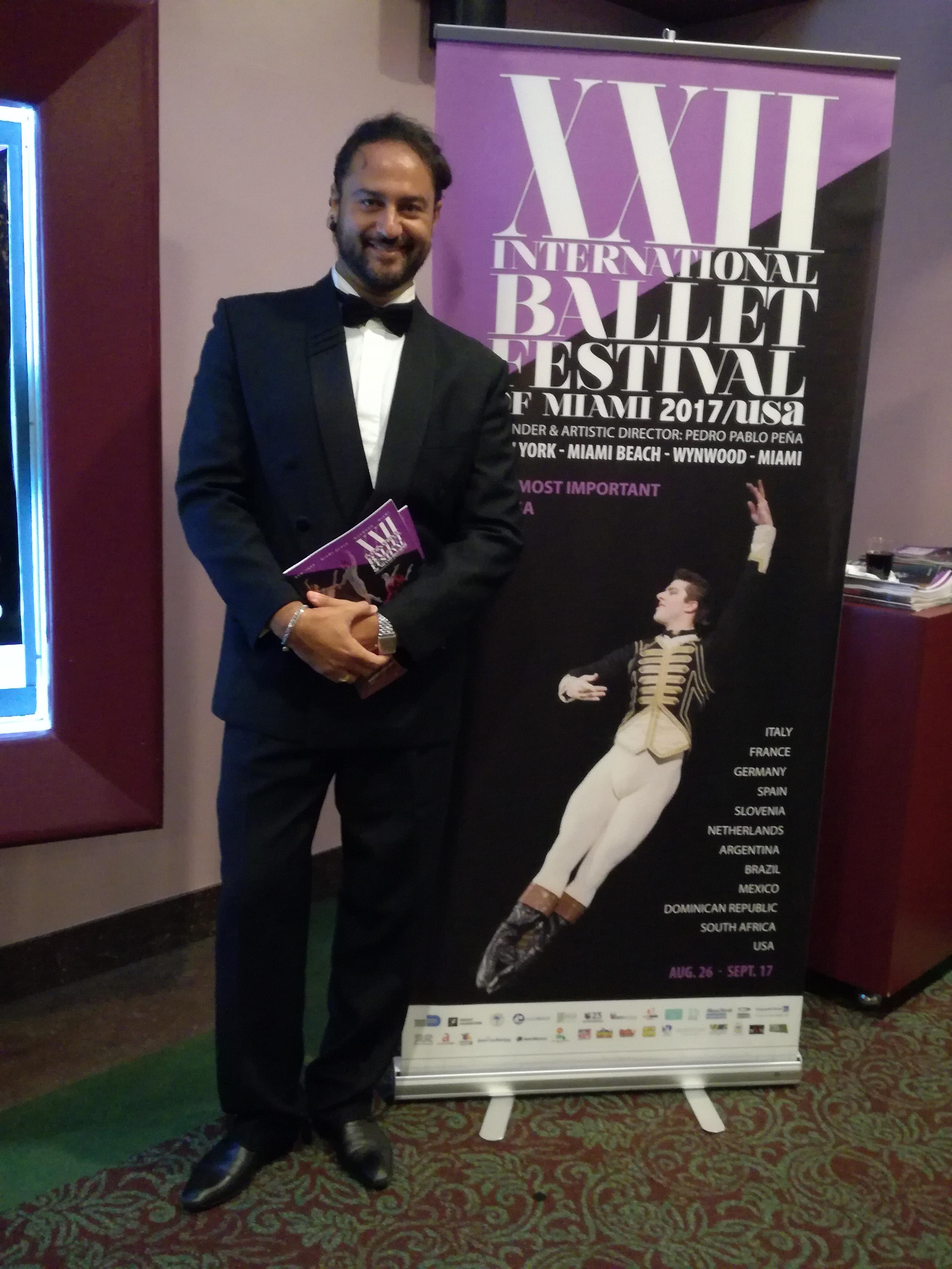 """""""Antonio Desiderio Presenta Due Nuove Eccellenze Italiane All'International Ballet Festival Di Miami"""""""