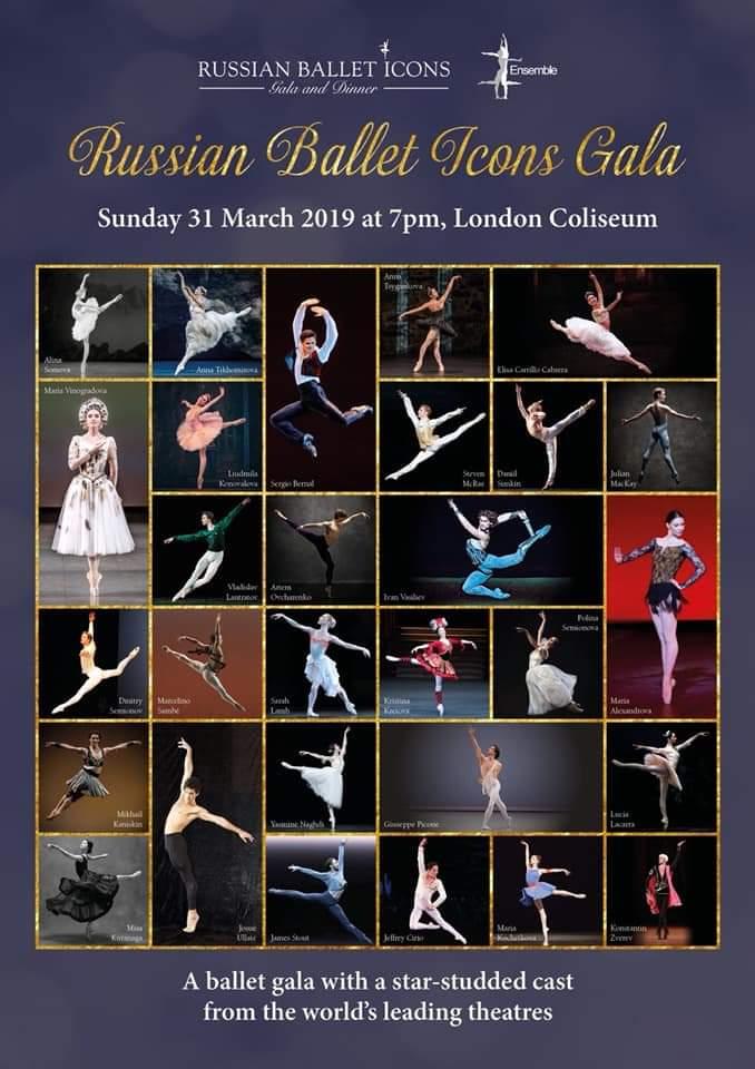 RUSSIAN BALLET ICONS – TEATRO COLOSEUM – LONDRA