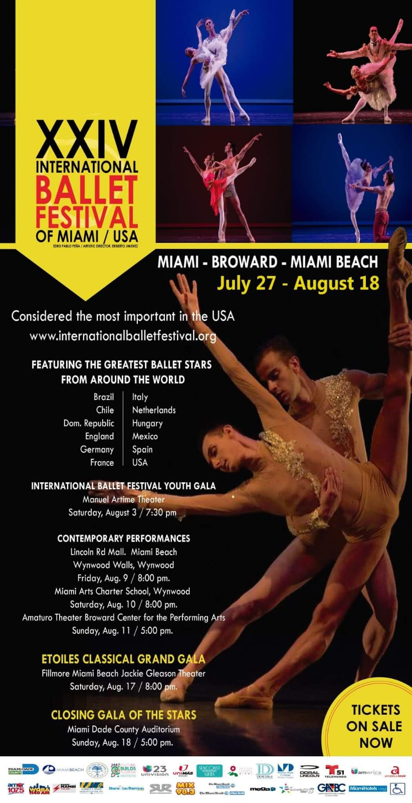 INTERNATIONAL BALLET FESTIVAL OF MIAMI, Florida