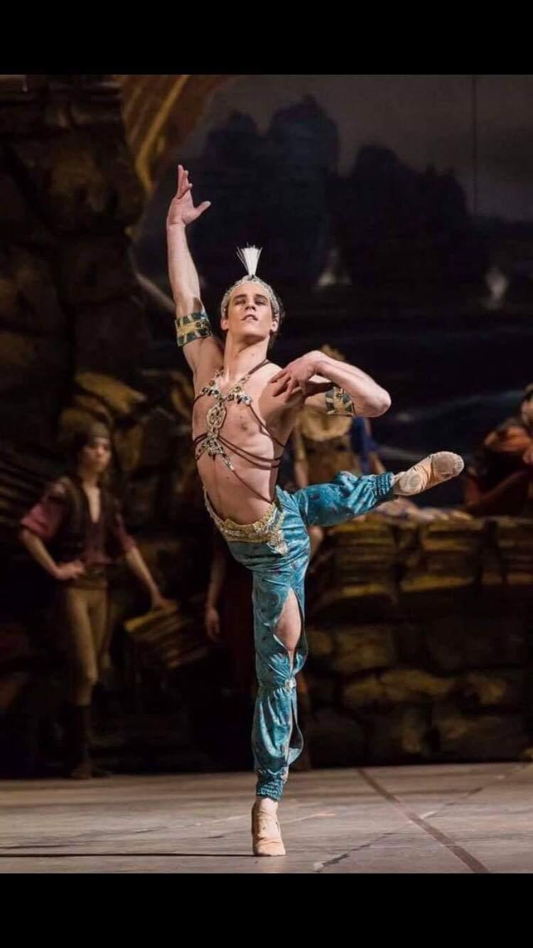 Antonio Desiderio porta la danza oltre oceano