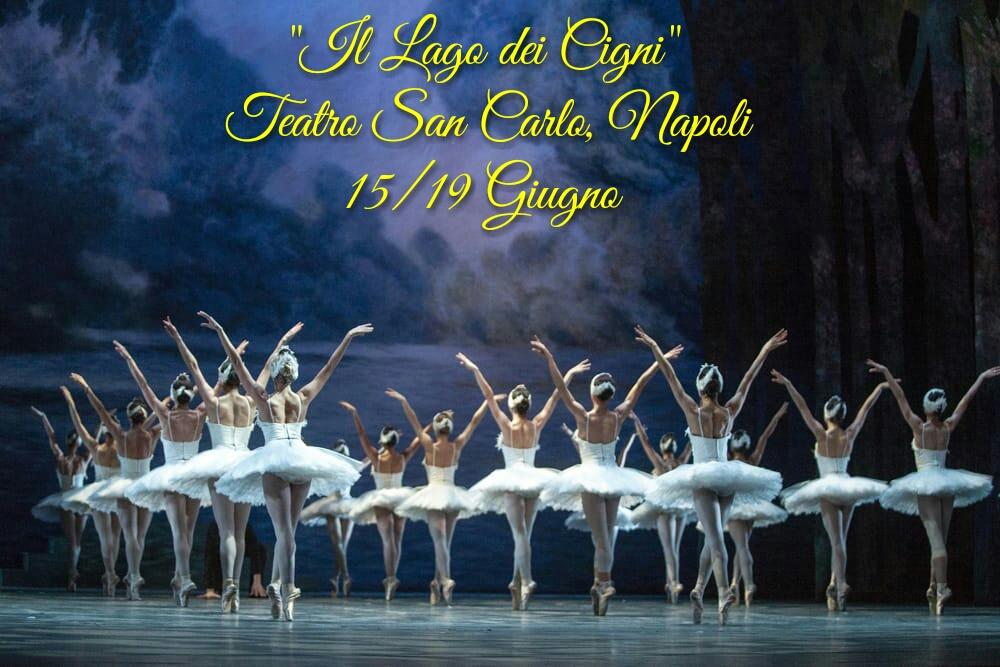 """""""IL LAGO DEI CIGNI"""", Teatro San Carlo di Napoli"""