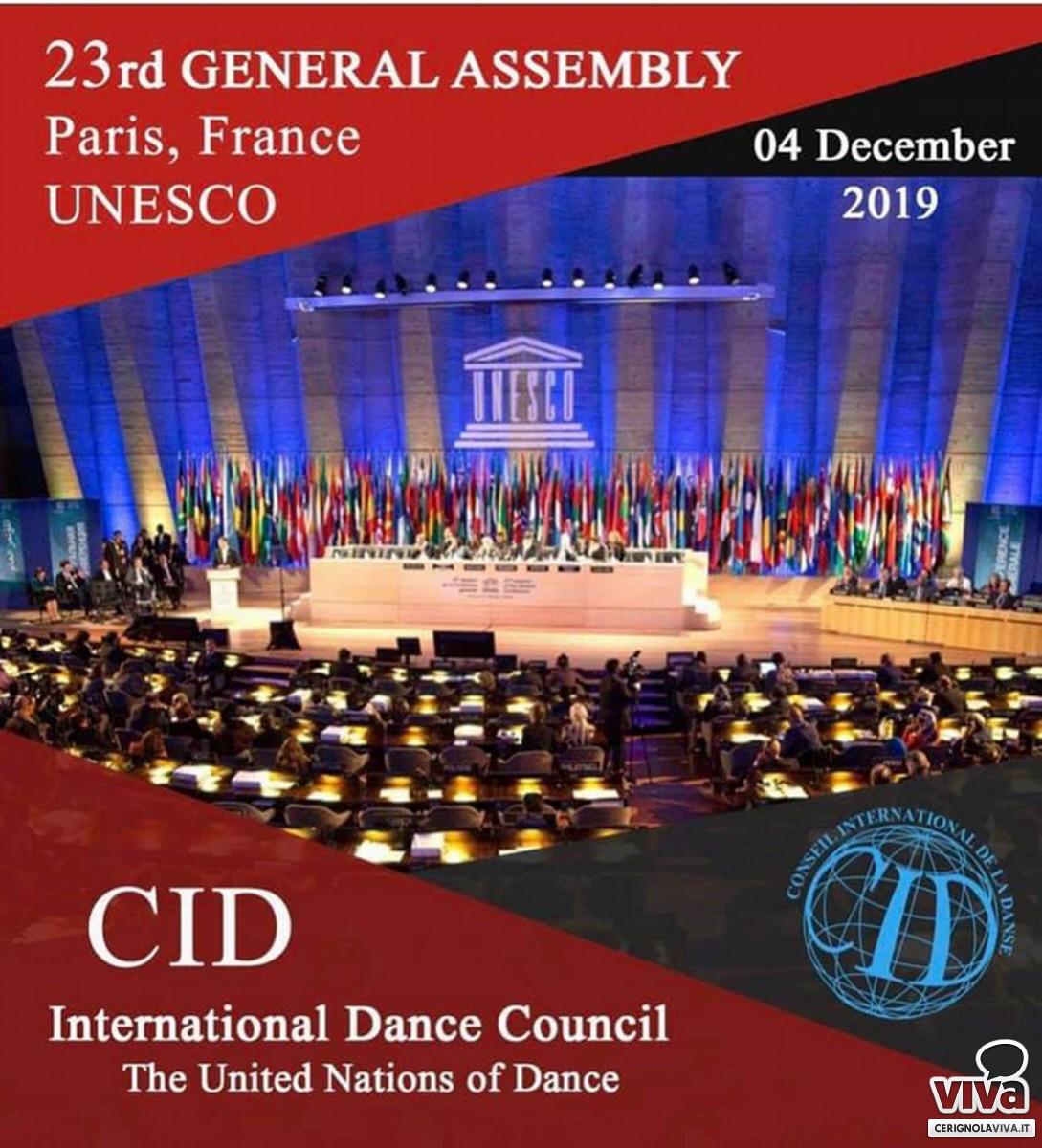 CONGRESSO INTERNAZIONALE DELLA DANZA – UNESCO, Parigi