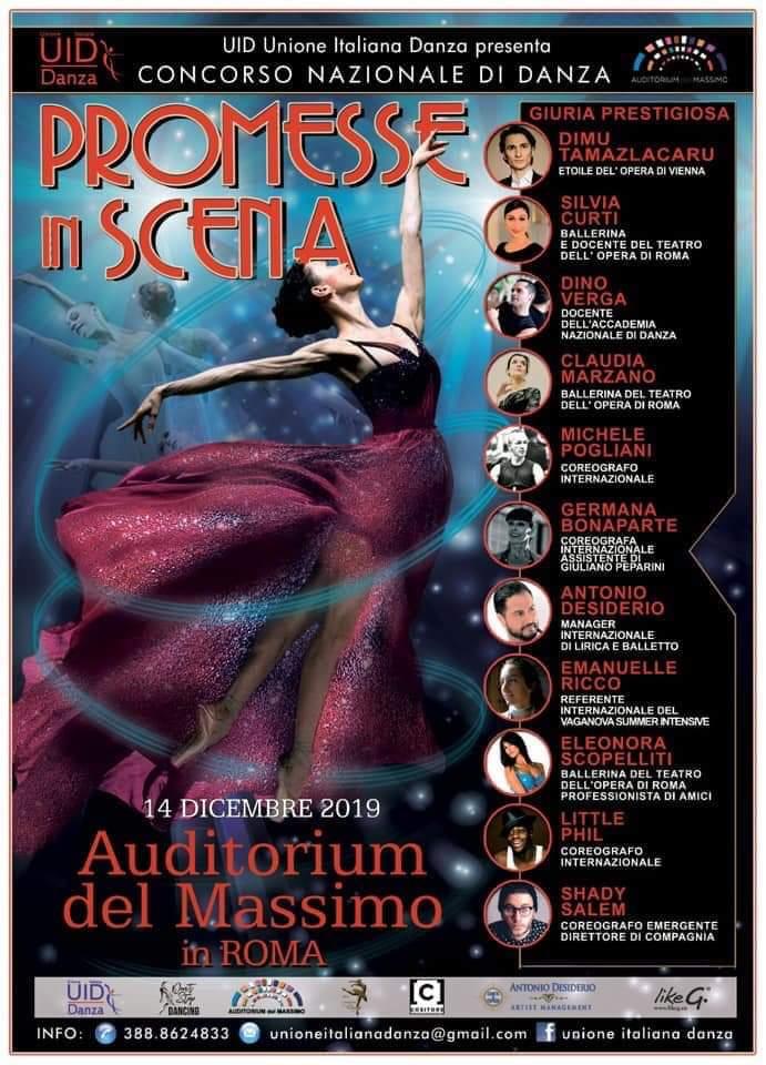 PROMESSE UN SCENA – Auditorium del Massimo, Roma