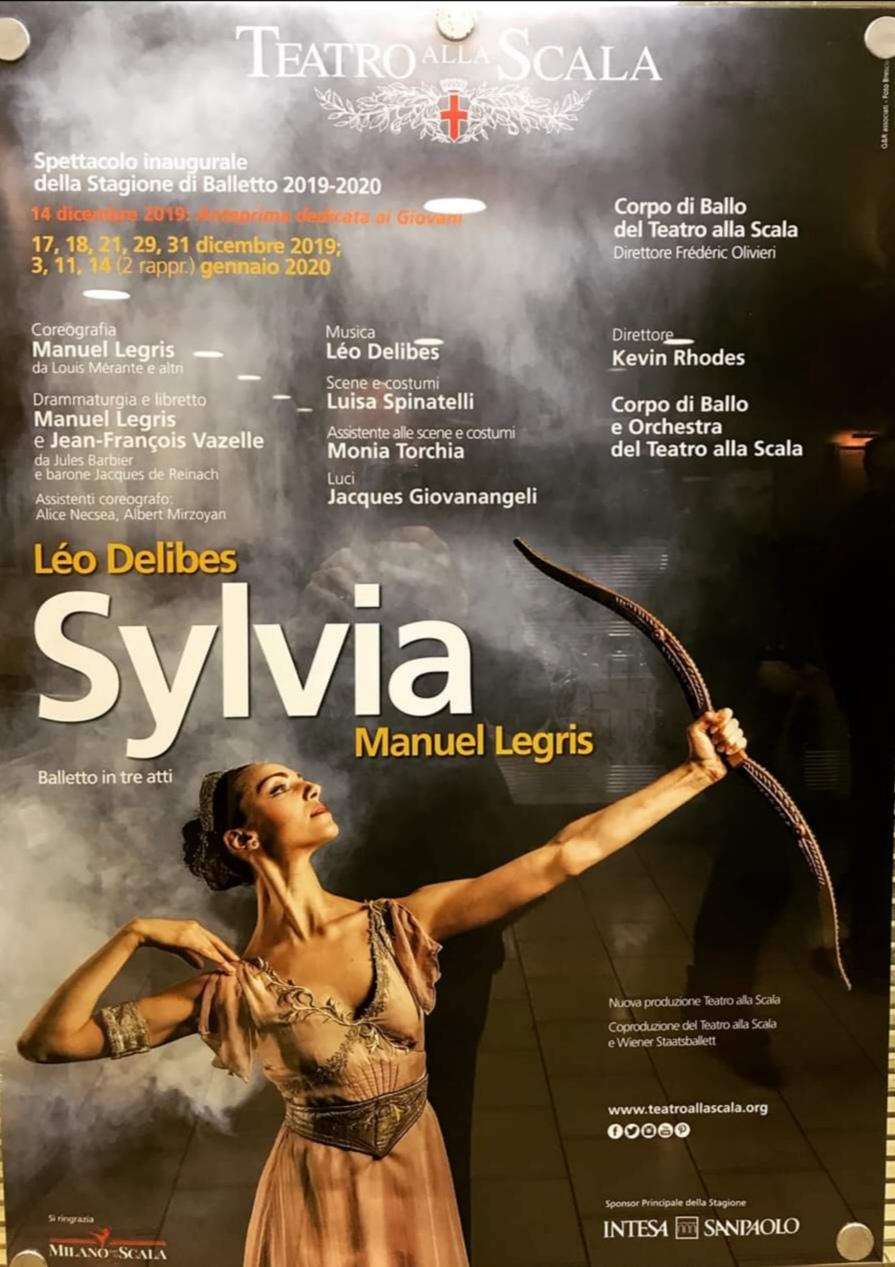 SYLVIA – Teatro alla Scala, Milano