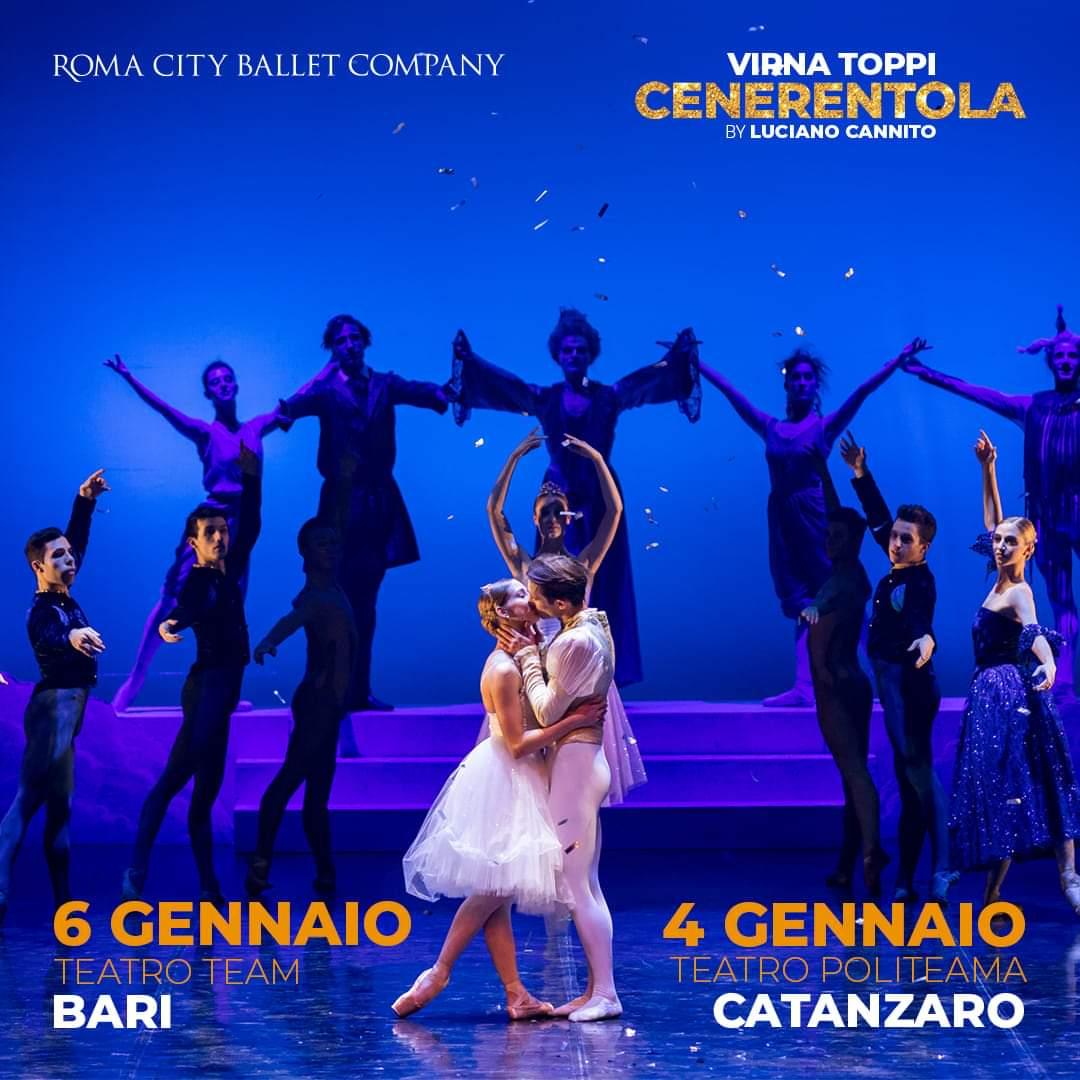 CENERENTOLA, Teatro Politeama di Catanzaro e Teatro Team di Bari