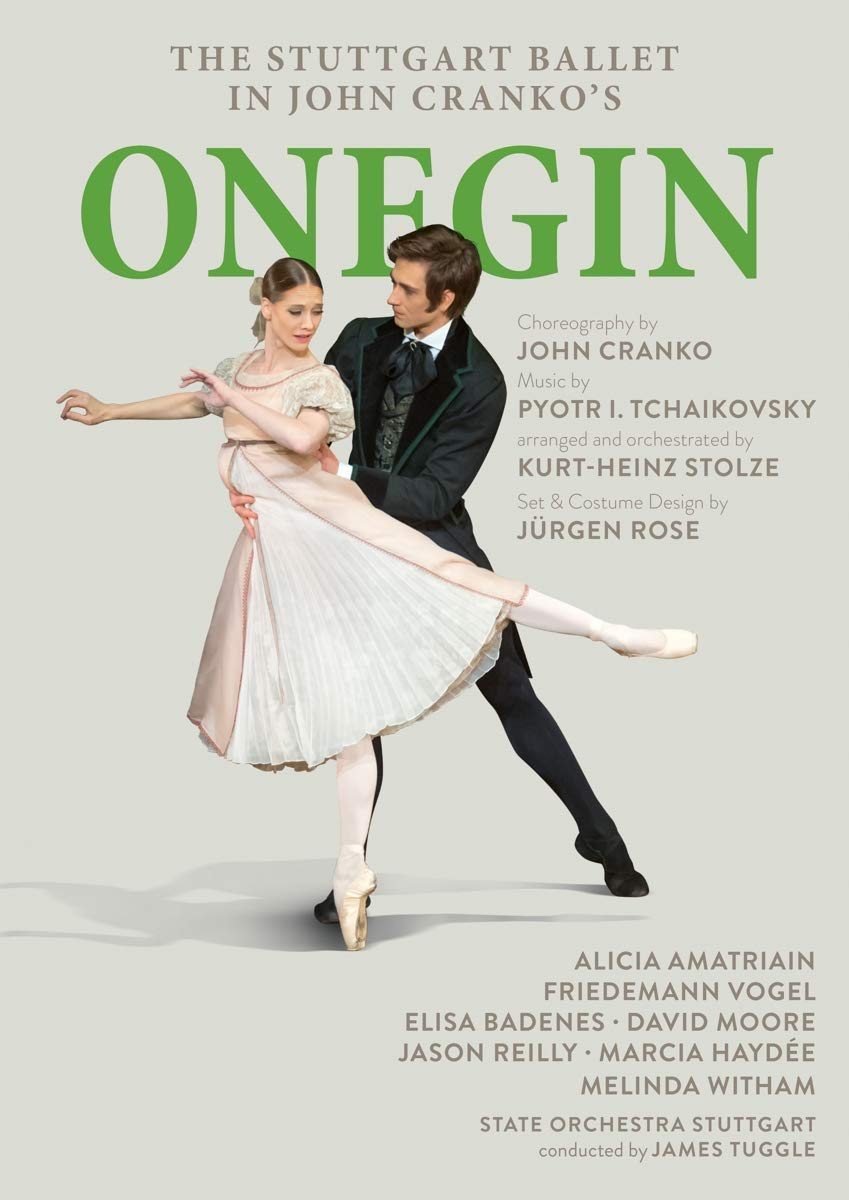 """ONEGIN"", Balletto di Stoccarda, Rai5"