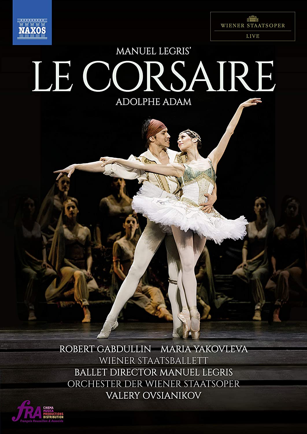 """""""LE CORSAIRE"""",Wiener Staatsoper Live at Home"""