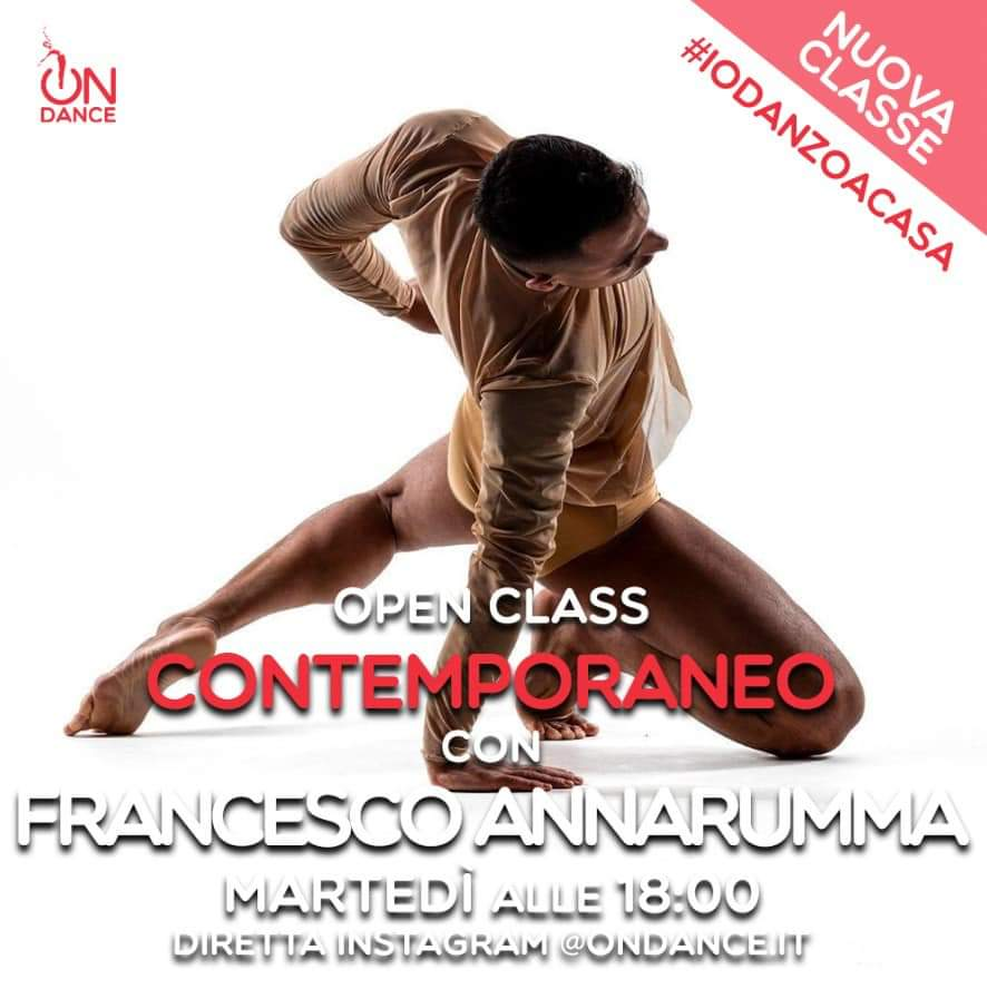 "FRANCESCO ANNARUMMA INVITATO AD ""ON DANCE"" DA ROBERTO BOLLE"