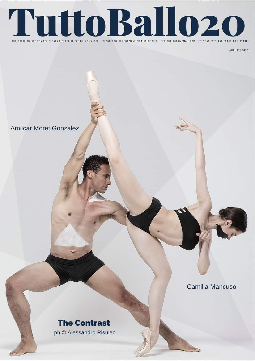 Intervista a Michal Krcmar, Etoile del Balletto Finlandese per TuttoBallo 20