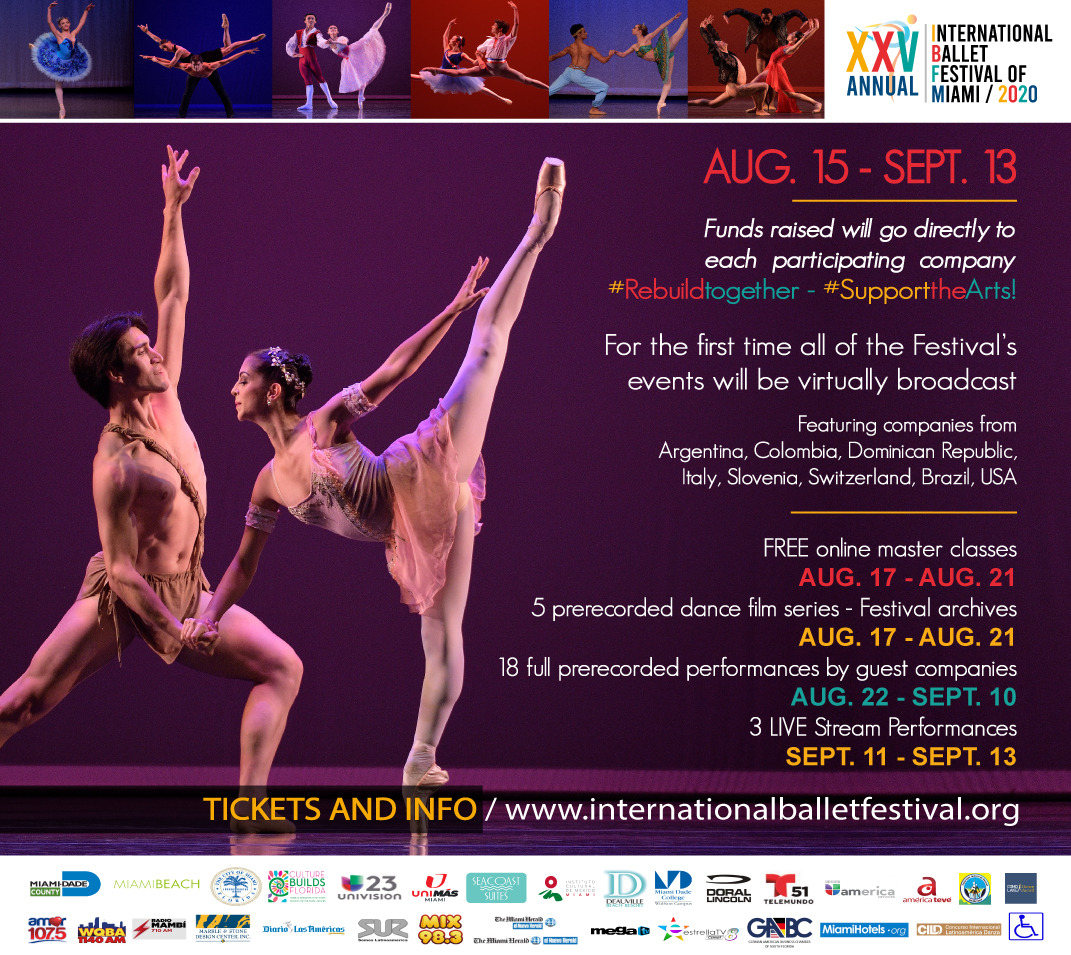 XXV INTERNATIONAL BALLET FESTIVAL OF MIAMI, FLORIDA