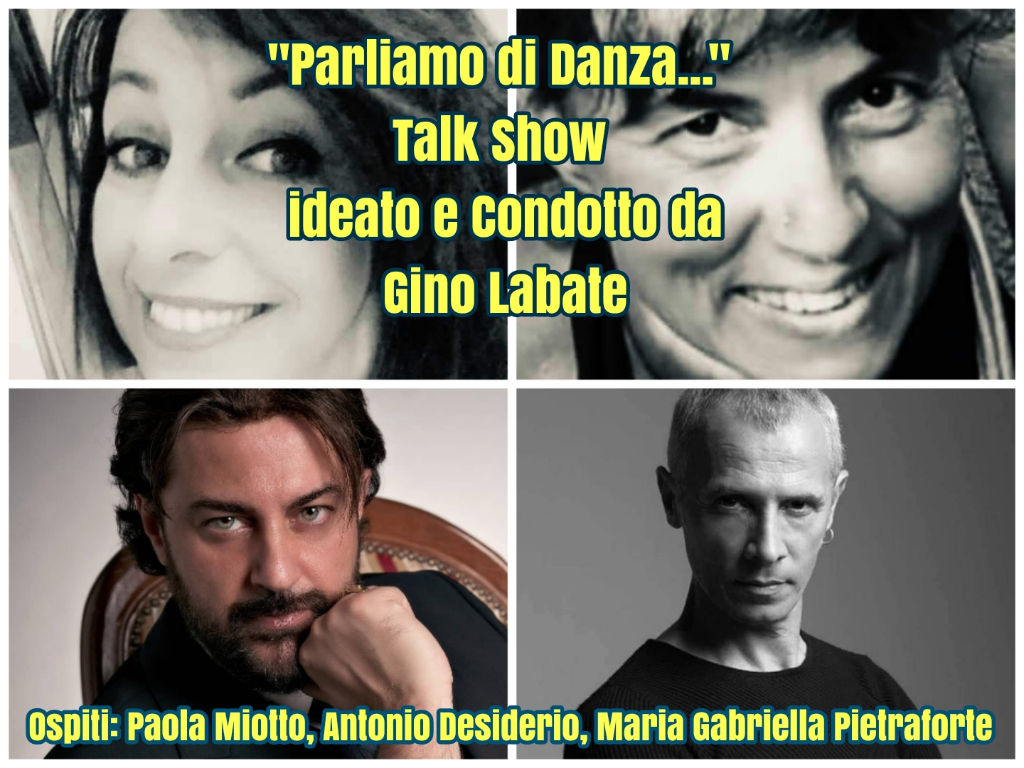 """Parliamo di Danza""…. Talk show on line"