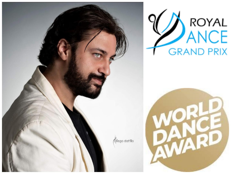 RIPARTENZA DELLA DANZA, ROYAL DANCE GRAND PRIX E WORLD DANCE AWARD CON ANTONIO DESIDERIO