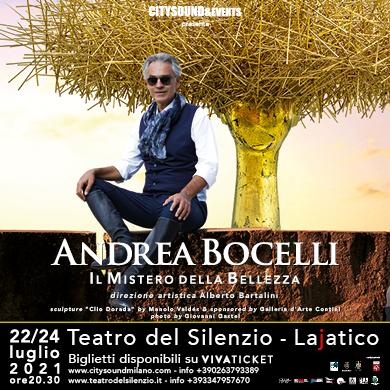 ANDREA BOCELLI E LA GRANDE DANZA