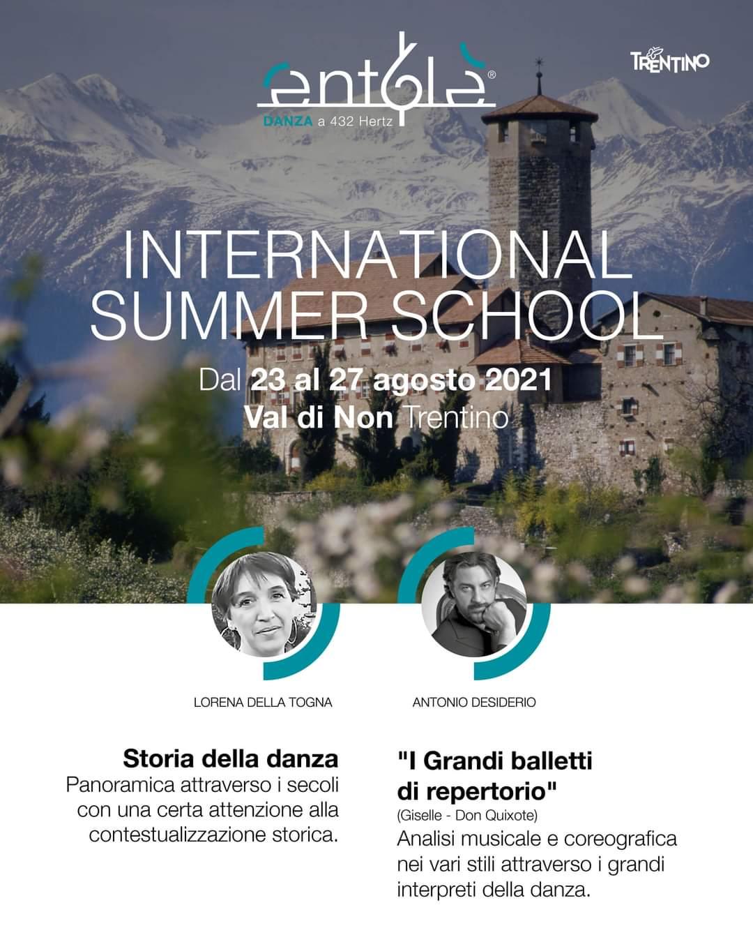 INTERNATIONAL SUMMER SCHOOL, VAL DI NON TRENTINO