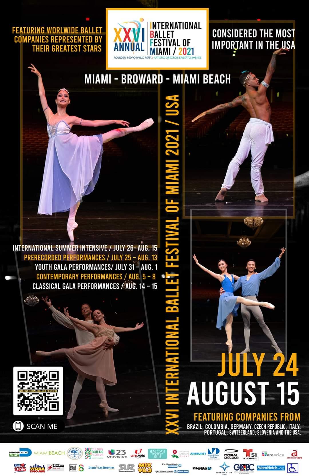 Antonio Desiderio ritorna all'International Ballet Festival di Miami