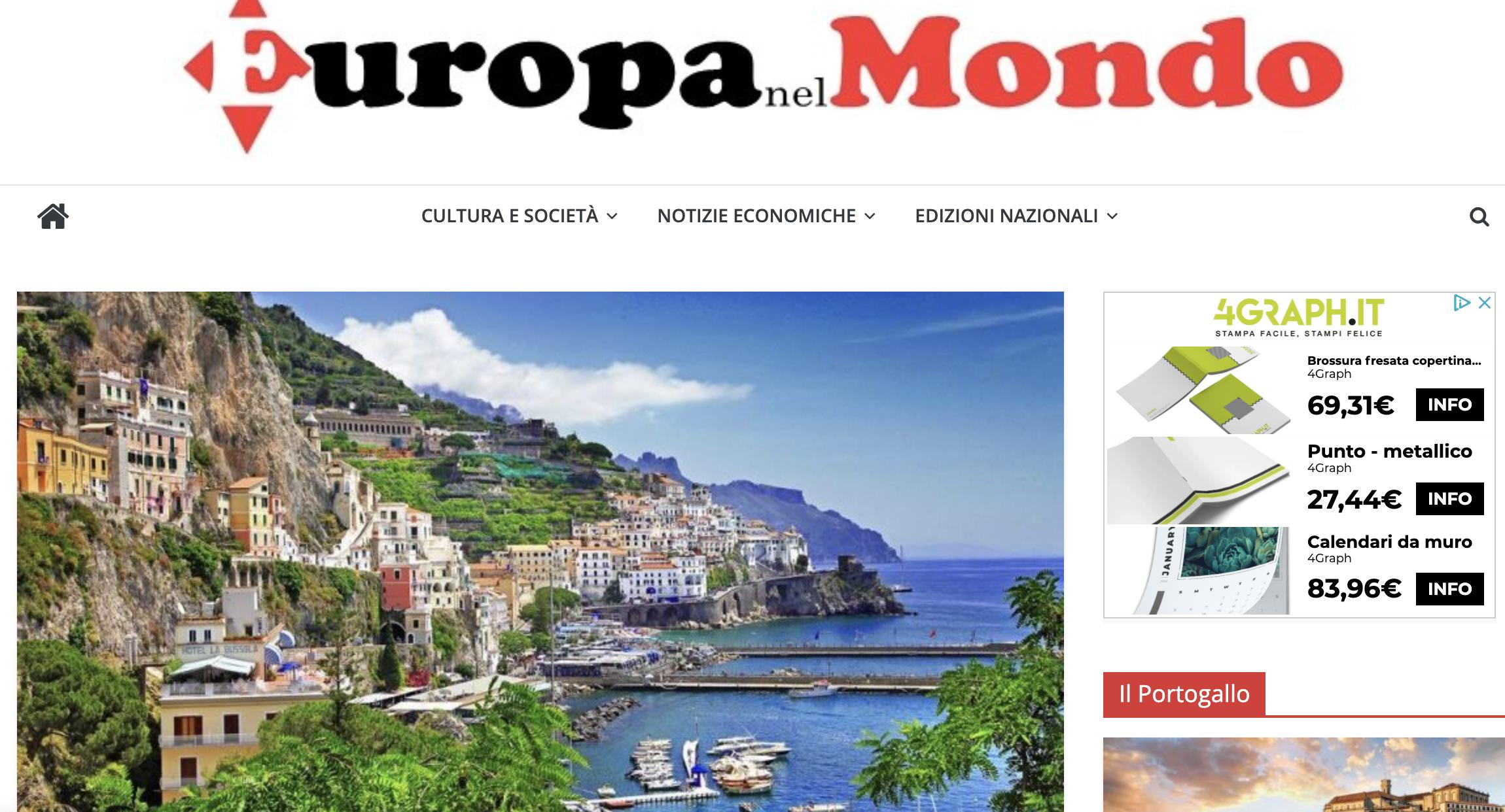 Premio Danza Capri International – Europa nel Mondo